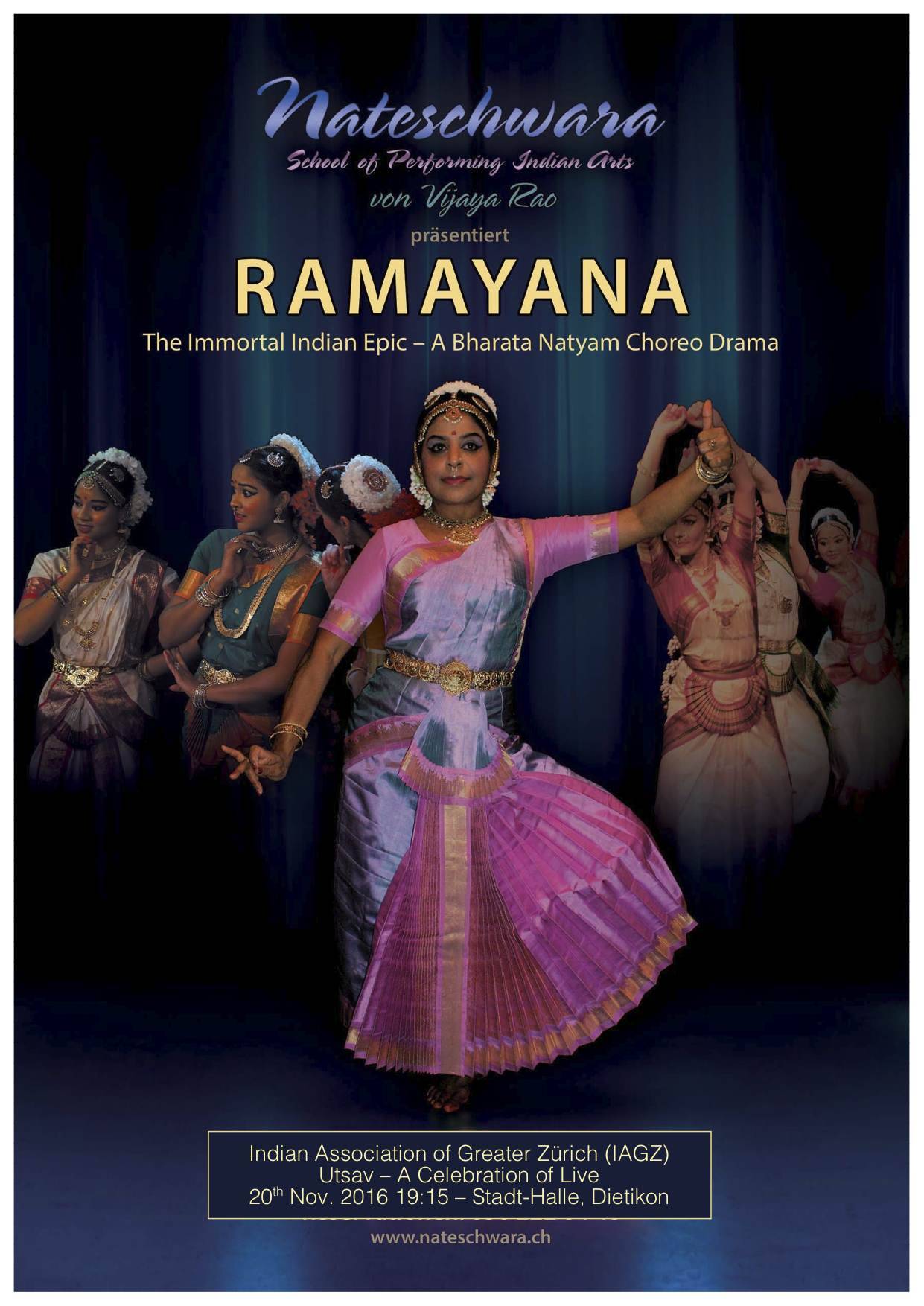 Nateschwara Dancers Ramayana